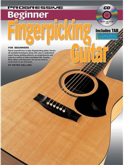Progressive Beginner Fingerpicking Guitar Books and CDs | Guitar