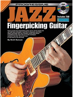 Progressive Jazz Fingerpicking Guitar Books and CDs | Guitar