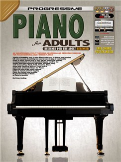 Progressive Piano For Adults Books, CDs and DVDs / Videos | Piano