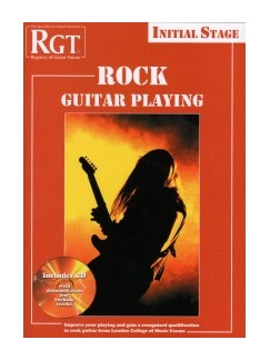 Registry Of Guitar Tutors: Rock Guitar Playing - Initial Grade Books and CDs | Guitar