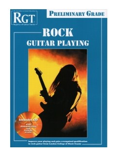 Registry Of Guitar Tutors: Rock Guitar Playing - Preliminary Grade Books and CDs | Guitar