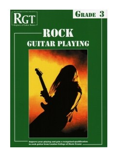 Registry Of Guitar Tutors: Rock Guitar Playing - Grade 3 Books | Guitar