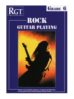 Registry Of Guitar Tutors: Rock Guitar Playing - Grade 6 Books | Guitar