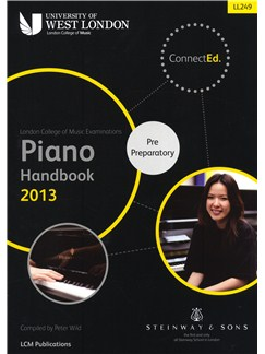 London College Of Music: Piano Handbook 2013 - Pre Preparatory Books | Piano