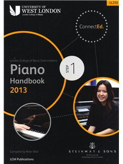 London College Of Music: Piano Handbook 2013 - Step 1 Books | Piano