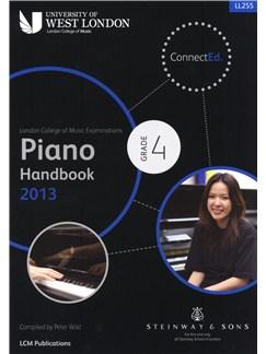 London College Of Music: Piano Handbook 2013 - Grade 4 Books | Piano
