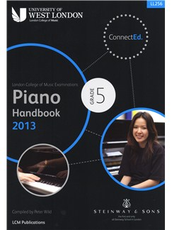 London College Of Music: Piano Handbook 2013 - Grade 5 Books | Piano