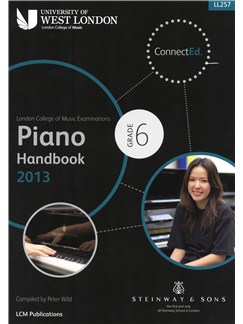London College Of Music: Piano Handbook 2013 - Grade 6 Books | Piano