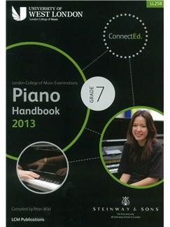 London College Of Music: Piano Handbook 2013 - Grade 7 Books | Piano