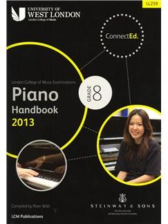 London College Of Music: Piano Handbook 2013 - Grade 8 Books | Piano