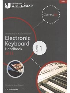 London College Of Music: Electronic Keyboard Handbook 2013 - Grade 1 Books | Keyboard