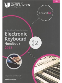 London College Of Music: Electronic Keyboard Handbook 2013 - Grade 2 Books | Keyboard