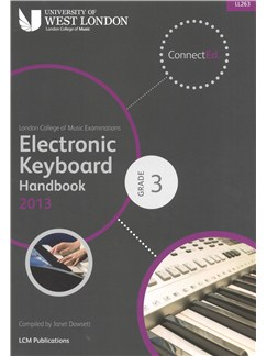 London College Of Music: Electronic Keyboard Handbook 2013 - Grade 3 Books | Keyboard
