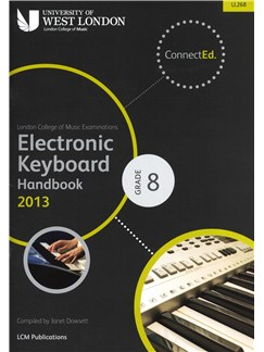 London College Of Music: Electronic Keyboard Handbook 2013 - Grade 8 Books | Keyboard