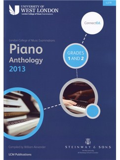 London College Of Music: Piano Anthology Grades 1 & 2 Piano Book Books | Piano