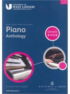 LCM Piano Anthology Grades 3 And 4 Books | Piano