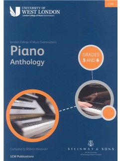 London College of Music Piano Anthology Grades 5 And 6 Books | Piano
