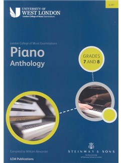 London College of Music Piano Anthology Grades 7 And 8 Books | Piano