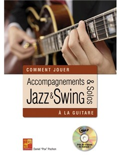 Accompagnements & Solos Jazz & Swing À La Guitar (Book/CD) Books and CDs | Guitar