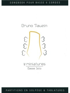 Bruno Tauzin: 12 Miniatures Books | Bass Guitar