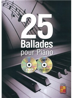 Frederic Dautigny: 25 Ballades Pour Piano (Book/CD/DVD) Books, CDs and DVDs / Videos | Piano