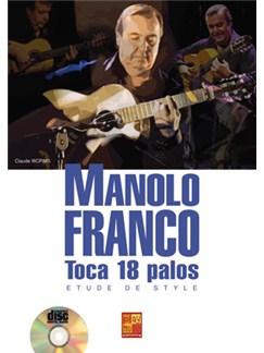 Manolo Franco: Toca 18 Palos - Etude De Style (Livre/CD) Books and CDs | Guitar
