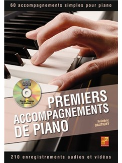 Premiers Accompagnements De Piano (Book/DVD) Books and CD-Roms / DVD-Roms | Piano