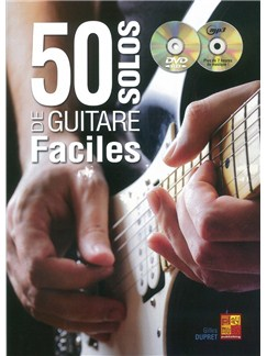 Gilles Dupret: 50 Solos De Guitare Faciles (Livre/CD/DVD) CD, DVDs / Videos et Livre | Guitare