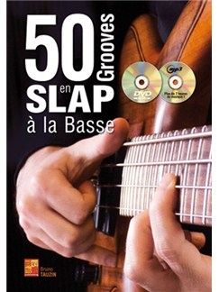 50 Grooves En Slap A La Basse (Book/CD/DVD) Books, CDs and DVDs / Videos | Bass Guitar