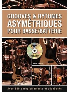 Grooves & Rythmes Asymétriques Pour Basse/Batterie (Livre/CD) CD et Livre | Guitare Basse, Batterie