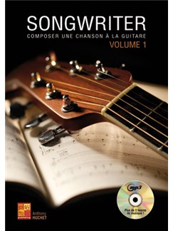 Anthony Huchet: Songwriter #1 (Livre/CD) Books and CDs | Guitar