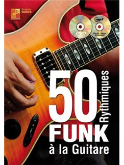 50 Rythmiques Funk A La Guitare (Livre/CD/DVD) Books, CDs and DVDs / Videos | Guitar