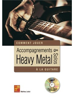 Accompagnements & Solos Heavy Metal (Livre/CD) Books and CDs | Guitar