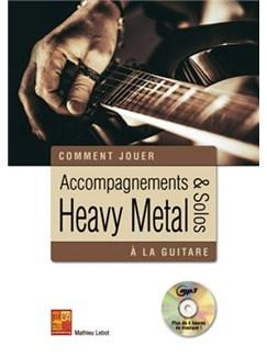Accompagnements & Solos Heavy Metal (Livre/CD) CD et Livre | Guitare