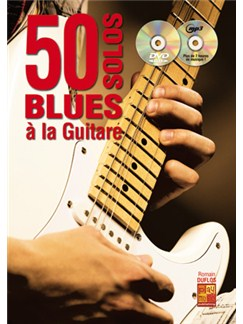 50 Solos Blues A La Guitare (Book/CD/DVD) Books, CDs and DVDs / Videos | Guitar