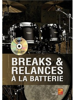Eric Thievon: Breaks & Relances A La Batterie (Livre/CD) Books and CDs | Drums