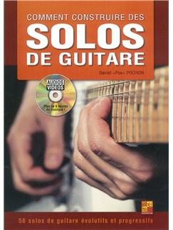 Daniel Pochon: Comment Construire Des Solos De Guitare (Livre/DVD) DVDs / Videos et Livre | Guitare