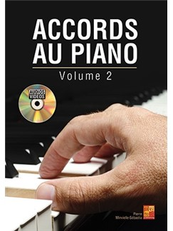 Pierre Minvielle-Sébastia: Accords Au Piano - Volume 2 Books and CDs | Piano