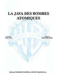 Boris Vian: Java des Bombes Atomiques (La) Books | Piano & Vocal