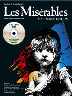 Alain Boublil/Claude-Michel Schonberg: Les Miserables - Sing-Along Edition Books and CDs | Voice, Piano Accompaniment