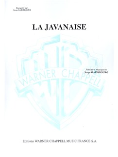 Serge Gainsbourg: Javanaise (La) Books | Piano & Vocal