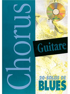 Chorus Guitare : 20 Solos de Blues Books and CDs | Guitar Tab