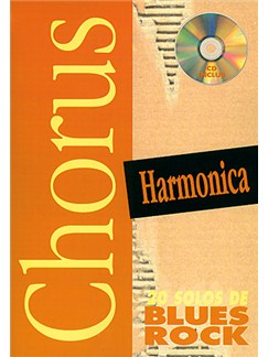 Chorus Harmonica : 20 Solos de Blues Rock Books and CDs | Harmonica
