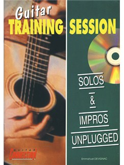 Solos and Impros Unplugged Books and CDs | Guitar Tab