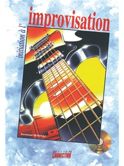 Initiation à l'Improvisation Books and CDs | Guitar Tab