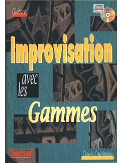 Improvisation Avec Les Gammes Books and CDs | Guitar Tab