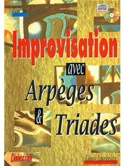 Improvisation Avec Arpèges and Triades Books and CDs | Guitar Tab