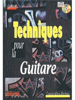 Techniques pour la Guitare Books and CDs | Guitar Tab