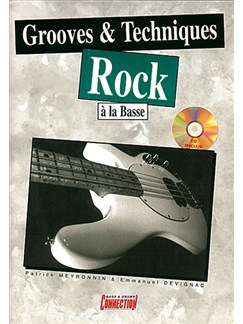Grooves and Techniques Rock à la Basse Books and CDs | Bass Guitar