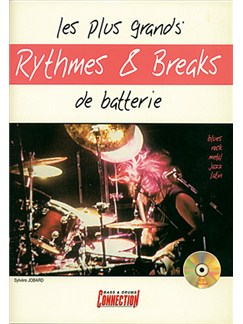 Plus Grands Rythmes and Breaks de Batterie (Les) Books and CDs | Drums